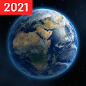 Live Earth Map 2021 with GPS Navigation FM icon