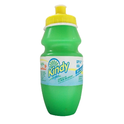 jugo kindy ligth base de limonada 280ml
