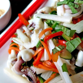 Goi Muc Ngo Sen - Calamari Lotus Root Salad