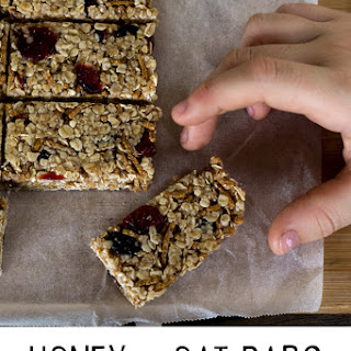 Homemade Oats And Honey Bars Recipes