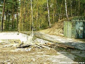 Photo: Rampa koło magazynu głowic