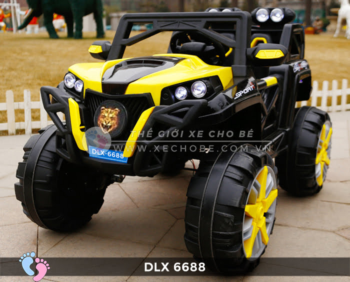 o to dien dia hinh 4 dong co DLX-6688 4