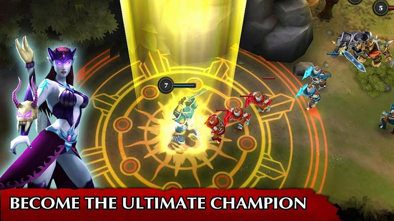 Legendary Heroes MOBA Screenshot 4