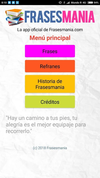 Frasesmania La App De Frases Célebres Android приложения