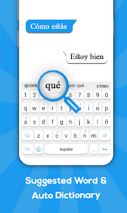 Spanish keyboard: Spanish Language Keyboard