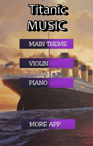 泰坦尼克號的音樂