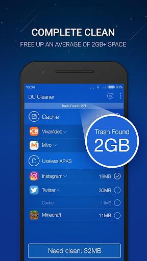 DU Cleaner screenshot 1