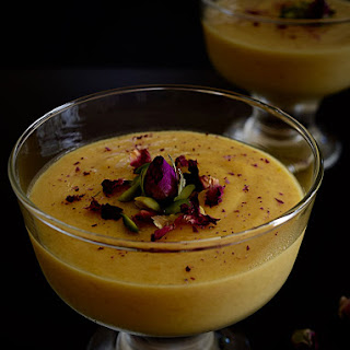 Mango Mahalabia (Muhalabia) with a Touch of Sumac Recipe