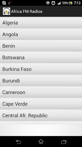 Africa FM Radios