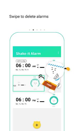 Shake-it Alarm screenshot