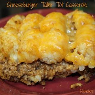 Cheeseburger Tater Tot Casserole Recipe