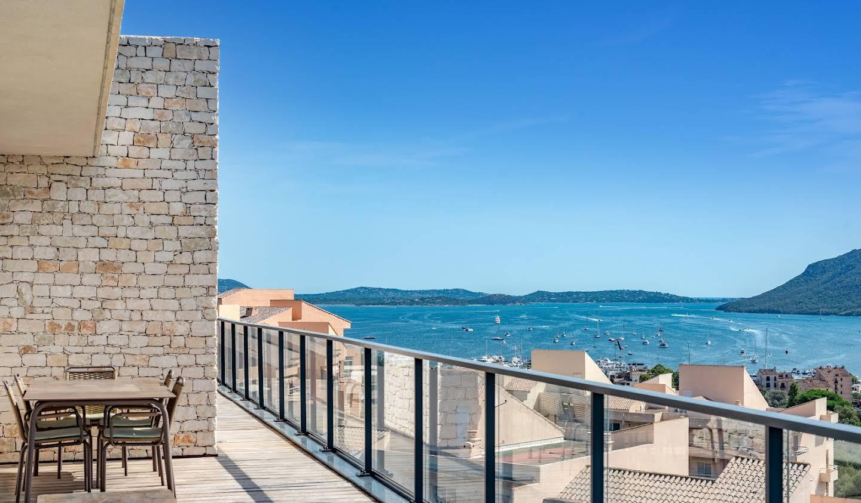 Appartement contemporain avec terrasse et piscine Porto-Vecchio