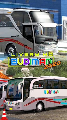 Livery HD Budiman 2020 1.0 screenshots 1