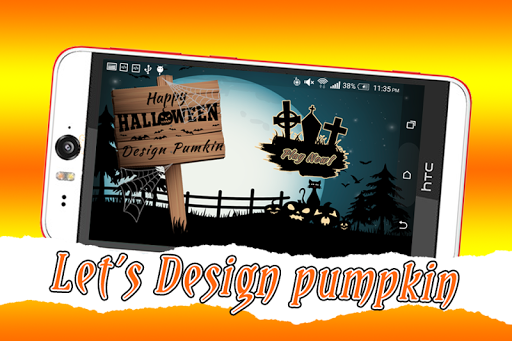 Halloween Pumpkin Design Free