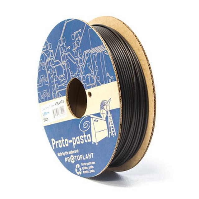 Proto-Pasta High Temp Carbon Fiber PLA Filament - 1.75mm (0.5kg ...