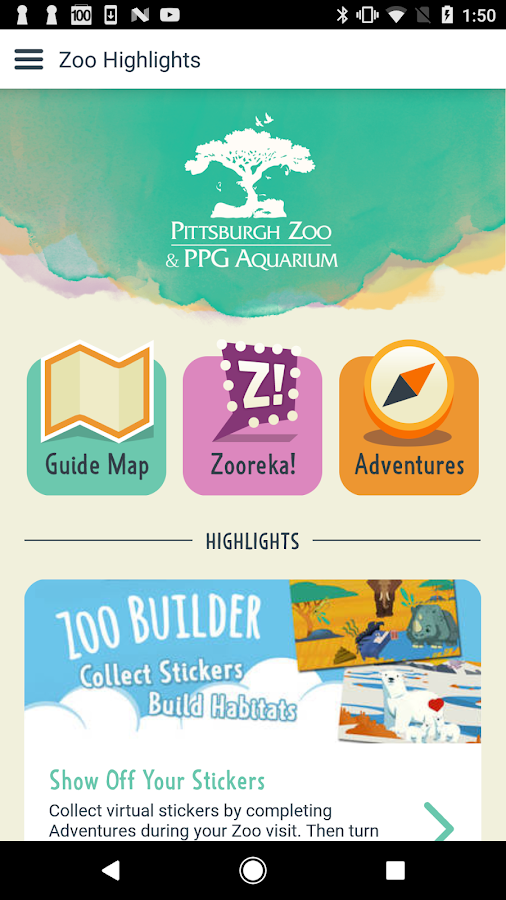 Pittsburgh Zoo & PPG Aquarium- screenshot