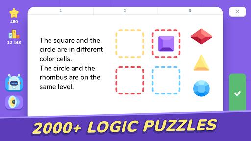 LogicLike: Logic Games, Puzzles & Teasers apktram screenshots 3