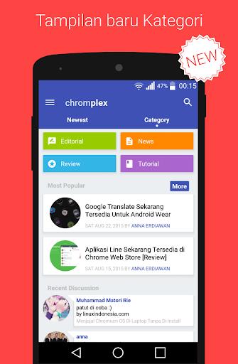 Chromplex : Google News Tech
