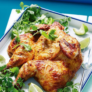 Ras El Hanout, Yoghurt and Lime Grilled Chicken Recipe