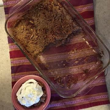 Cake Mix Apple Crisp