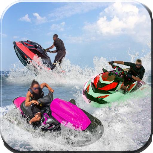 Water Boat racing Stunt Rider