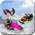 Water Boat racing Stunt Rider Icon