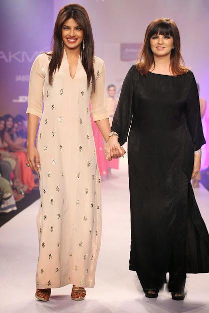 Priyanka Chopra fashion show for Neeta Lulla