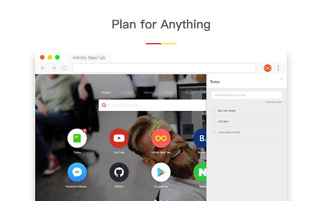 Infinity New Tab (Pro) - Chrome Web Store