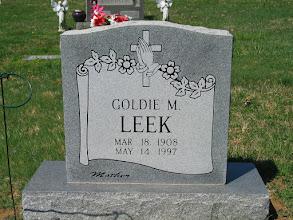 Photo: Leek, Goldie M.