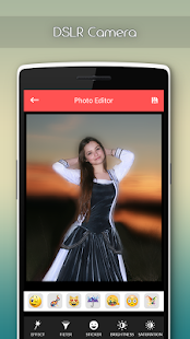 DSLR Camera Photo Editor - Blur Effect - náhled