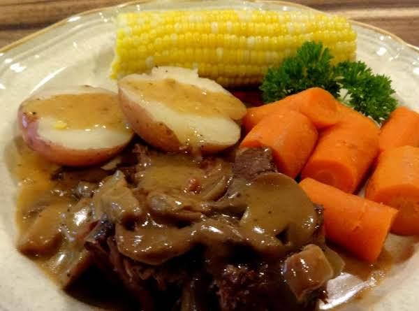 Bonnie's Sunday Dinner Pot Roast- Her Way