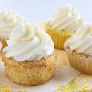 Pineapple Cupcakes.