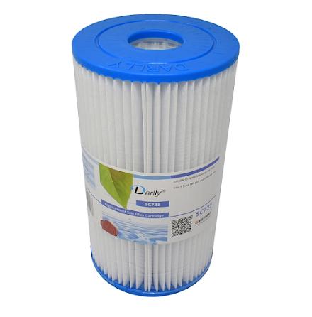 Filter 5sqf 20x11x5cm hål