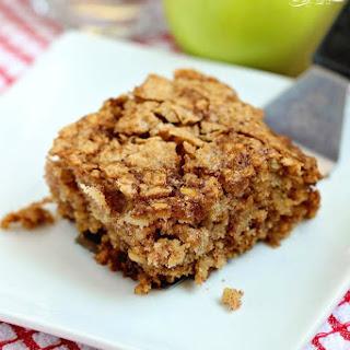 Apple Oatmeal Breakfast Cake.