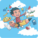 Preschool Kids Fun Learning Icon