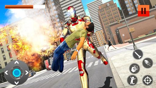 Iron Superhero War: Iron Robot Rescue Mission 2020 1.2.12 screenshots 4