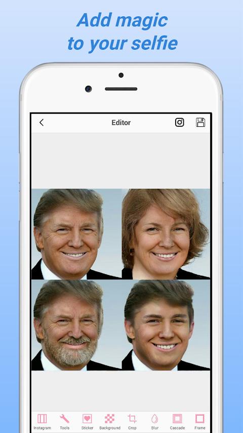 Face Changer Photo Gender Editorのおすすめ画像1