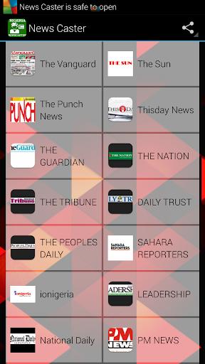 Nigeria Newscaster