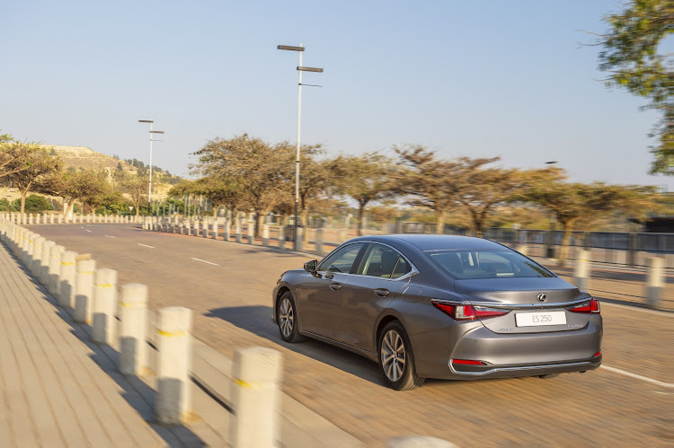 The Lexus ES is larger and roomier than its price rivals. Picture: SUPPLIED