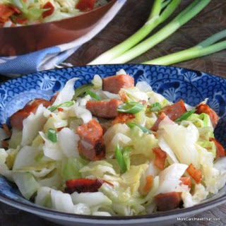 Super Easy Sausage and Cabbage Dinner