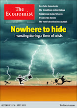 Photo: The Economist cover: Nowhere to hide. October 15th-21st 2011