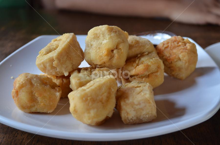 Tahu Crispy Eating Food Drink Pixoto