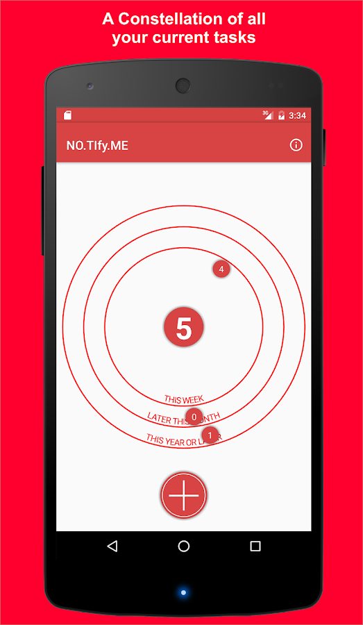 NO.TIfy.ME Women Tasks Manager- screenshot
