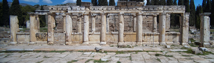 Photo: the baths at hieropolis