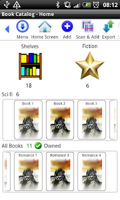 Book Library - screenshot