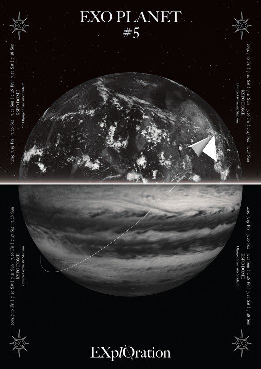 "EXO Announces ""EXO PLANET #5 - EXplOration"" Concert In ..."