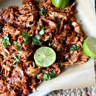 Slow Cooker Mexican Shredded Chicken.