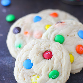 The Best Soft and Chewy MnM Cookies.