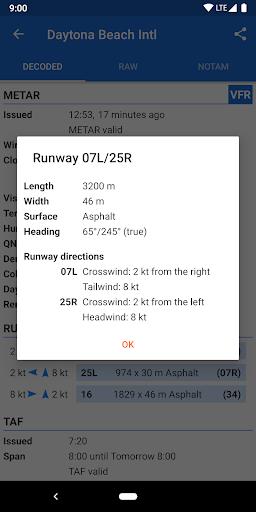 Avia Weather - METAR & TAF 2.11.6 Screenshots 8