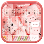 Typany Pink Marshmallow Keyboard Theme Icon